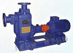 ZW-type self-priming sewage pump without blockage